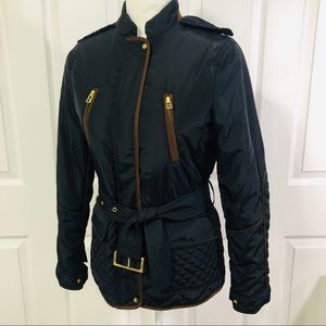 Zara lightweight quilted barn jacket